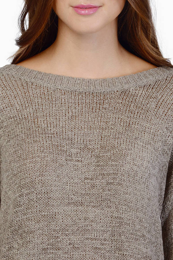 Warm Me Knit Sweater