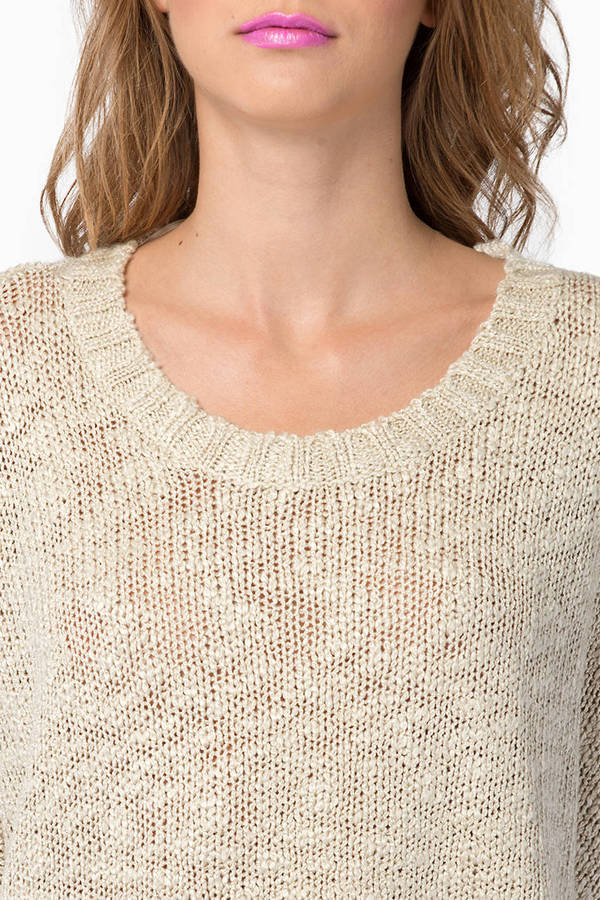 Secretly Solid Knit Sweater
