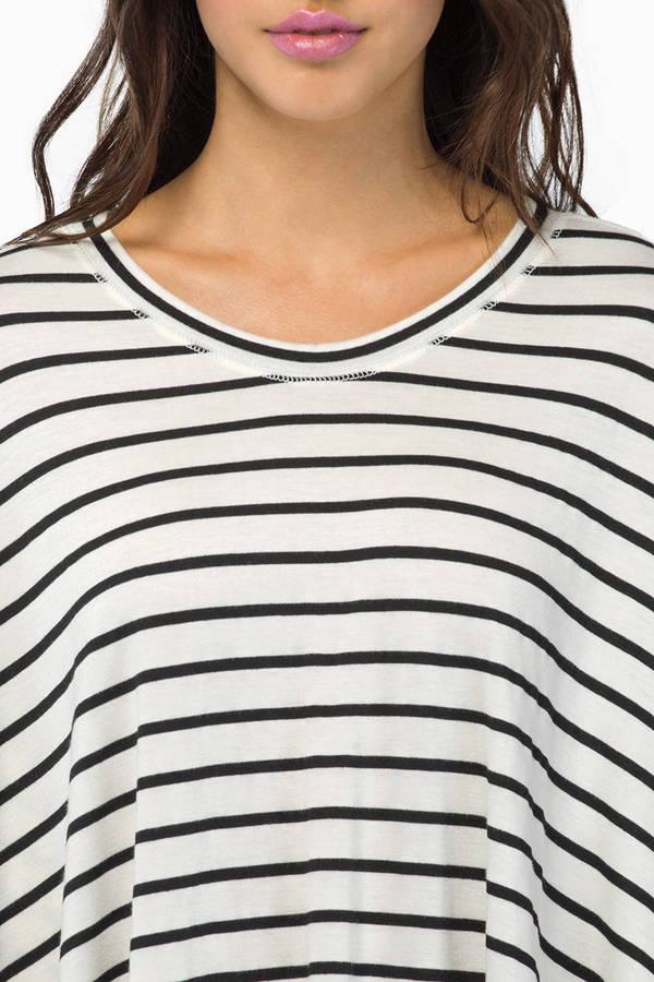 Stripe Across Top