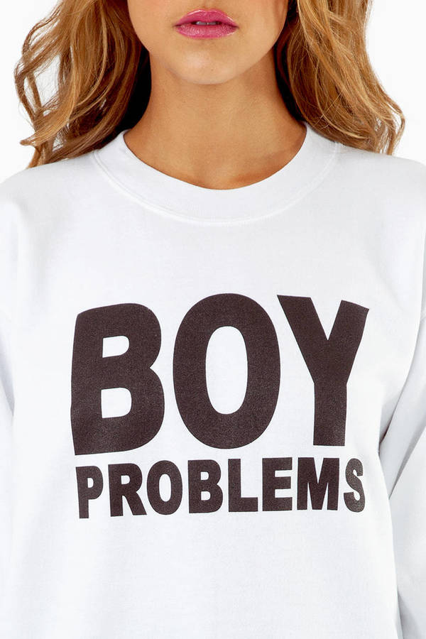 Petals & Peacocks Boy Problems Sweatshirt