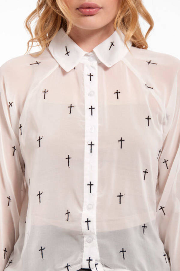 Reverse Crossing Blouse