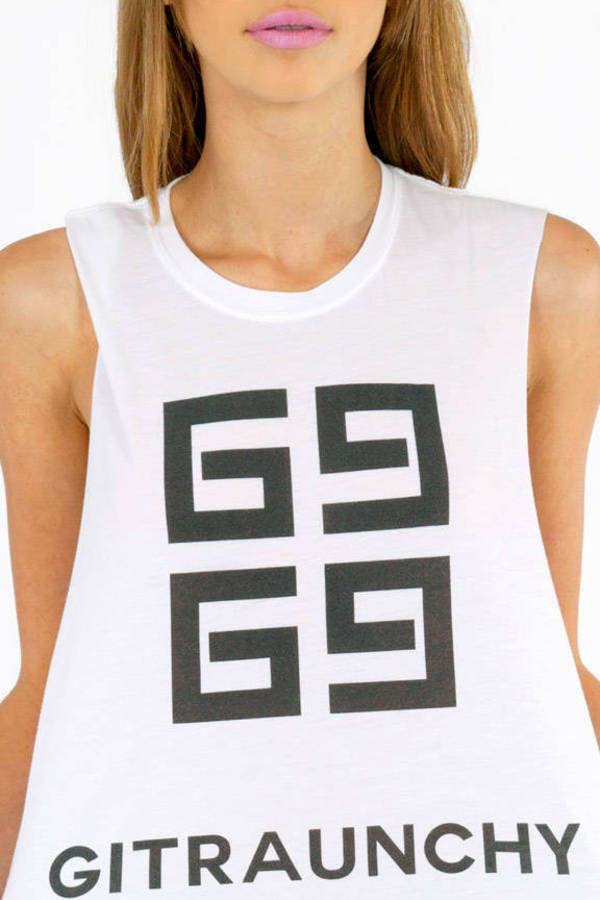 The Laundry Room Gitraunchy Muscle Tank Top