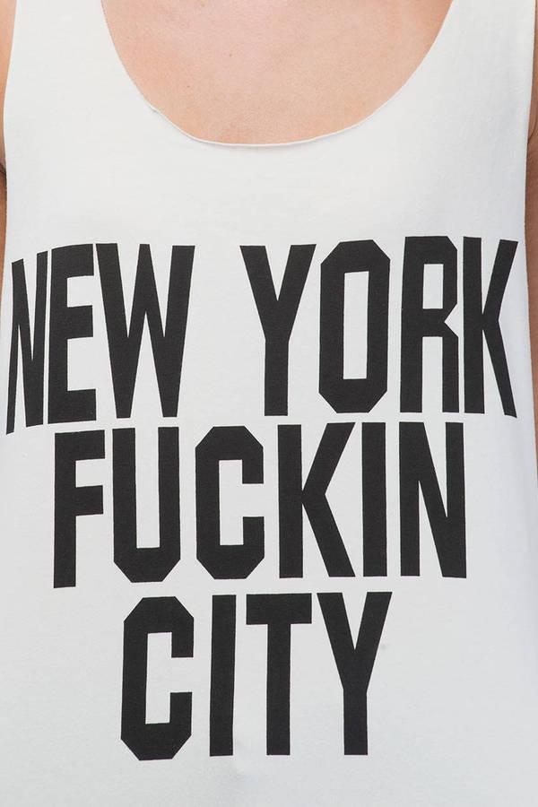 Reverse New York Tee