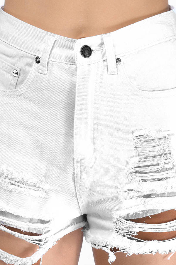 Trinity Denim Shorts