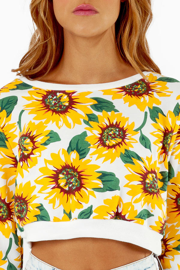 Sunny Side Up Crop Top
