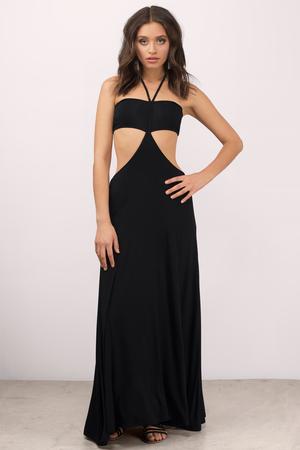 Maxi Dresses Long Dresses  Cute Floral Sexy Black White  Tobi