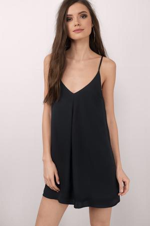 Cami Dresses Silk Camisole White Black Spaghetti