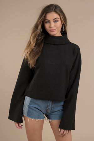 Trendy Black Top - Lace Up Top - Black Top - Black Hoodie -  24 ... a9c4b6f7b