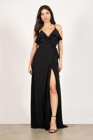 formal black dresses