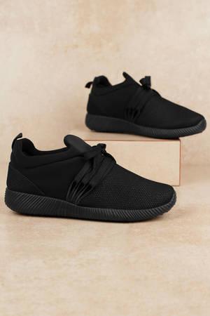 women's sneakers  cute platform sneakers black tennis