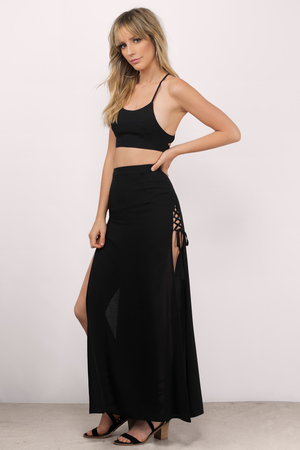 Maxi Dresses Long Dresses  Cute Floral Sexy Black White  Tobi