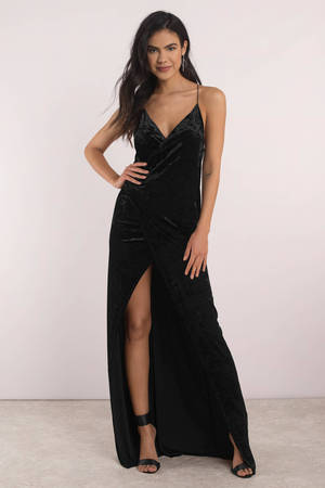 Evening Dresses Long Black Cocktail Formal Gown Party