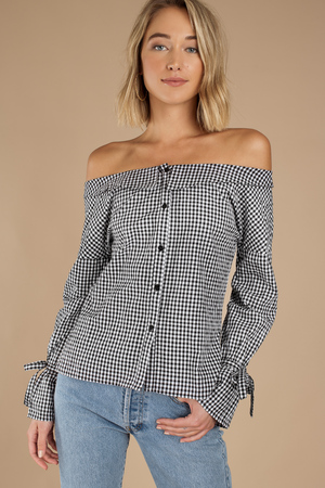 fff90b1f174aa White Minkpink Blouse - Wrap Top - White Polka Dot Blouse -  46 ...