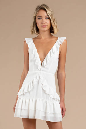 Boho Dresses Bohemian Dress White Maxi Dress Cute Chic Tobi