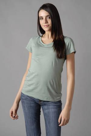 Casual Jewel Neck T shirt