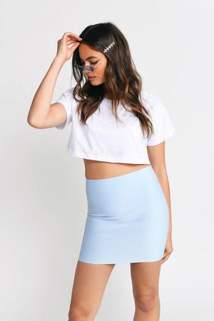1f706ed6e005 Navy Skirt - High Waisted Skirt - Blue Skirt - Pleated Blue Skirt ...