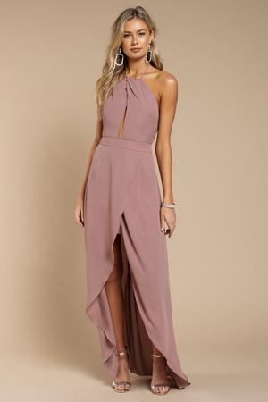 Patti Mauve Maxi Dress