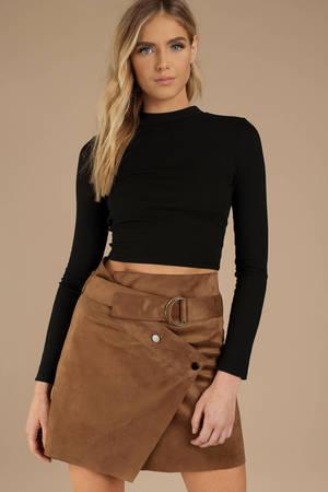 e9f7c528666e Sexy Taupe Skirt - Front Slit Skirt - Maxi Skirt - Taupe Skirt - $10 ...