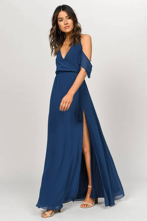 For Skin Tone Medium Dark Blue Short Prom Dresses