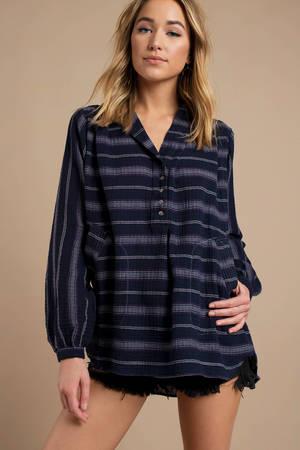 1961b2169d0 Tunic Tops | Cute Long Tunic Tops, Dressy Tunics for Women | Tobi