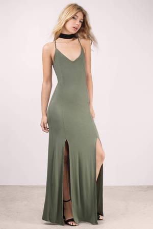 Green Maxi Dress - Shop Green Maxi Dress at Tobi