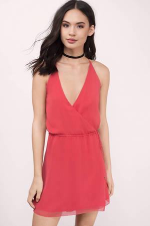 Short Red Dress &amp- Red Mini Dress - Tobi