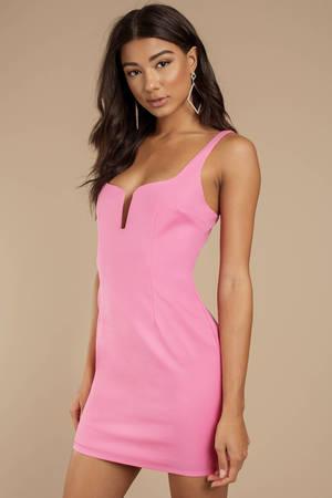 Pink Dresses Blush Dress Hot Light Prom Tobi