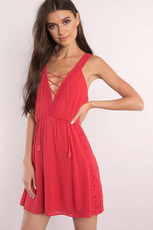 Red Dresses | Red Prom Dress, Red Cocktail Dress | Tobi