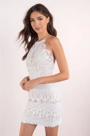 White Dresses For Women White Lace Dress Sexy White