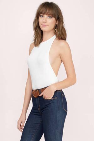 Cheap White Bodysuit Backless Bodysuit White Bodysuit