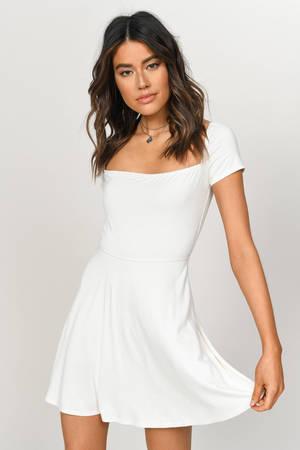 071a48023e76 Kia Black Skater Dress - $28 | Tobi US