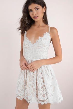 White Dresses For Women | White Maxi Dress, White Lace Dress | Tobi