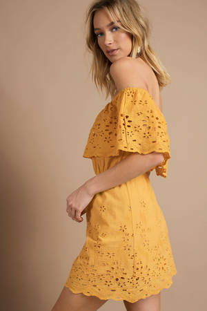 Sundresses For Women Yellow Sundress Cute Short