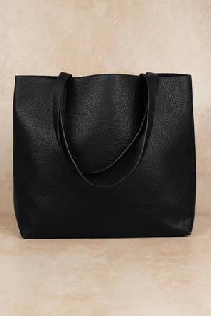 e23ea653ed Black Tote Bag - Every Tote - Black Large Tote - C  33