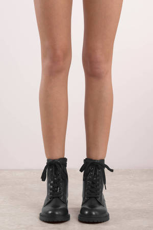 a0d38952a53 Officer Leather Boots