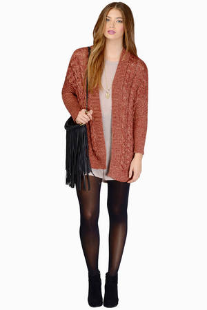 Burgundy Cardigan - Long Sleeve Cardigan - Burgundy Sweater - kr ...