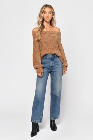 7501fdada42 Carla Camel Chenille Crop Sweater Carla Camel Chenille Crop Sweater ...