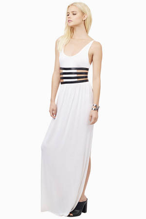 Black and white maxi dress nz