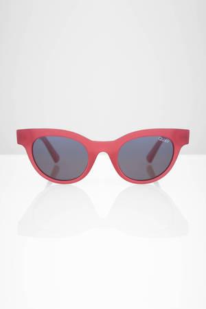 4b383d04de ... QUAY Quay X Kylie Starstruck Pink Smoke Sunglasses ...