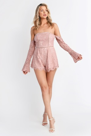 1e064fc947e Angelica Rose Off Shoulder Romper Angelica Rose Off Shoulder Romper ...