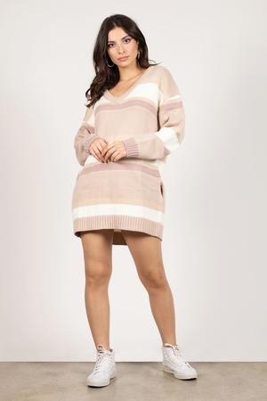 01c5dbc439a Diana Rose Multi Striped Sweater Dress Diana Rose Multi Striped Sweater  Dress ...