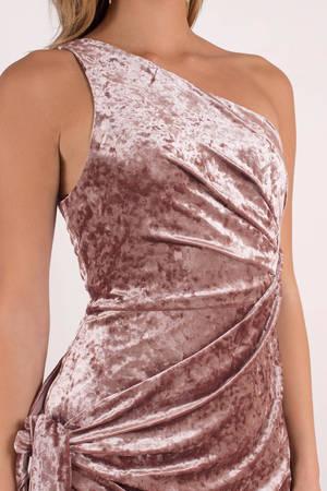 stylestalker sasha rose one shoulder dress - £118 | tobi gb