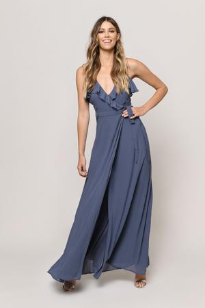 Kristen Wrap Maxi Dress