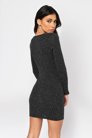 Sexy Bodycon - Lace Up Front - Black Long Sleeveless Dress - € 13 ... 63b60e77c