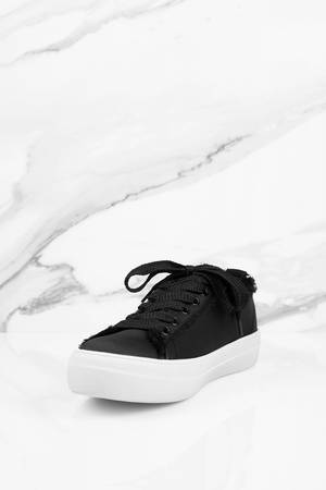 b8455e58851 Black Steve Madden Sneakers - Distressed Sneakers - Black Satin ...