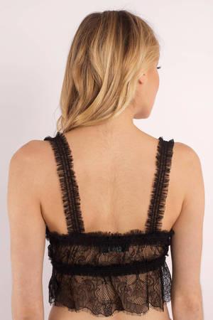 Cute Black Intimates - Lace Intimates - Black Bra - C  38  e91862dcd