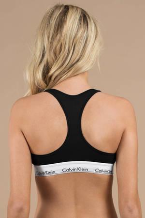 471fcc752c14 Calvin Klein Modern Black Cotton Bralette - C$ 51 | Tobi CA