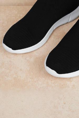 Fabs Knit Sock Sneakers | Tobi CA
