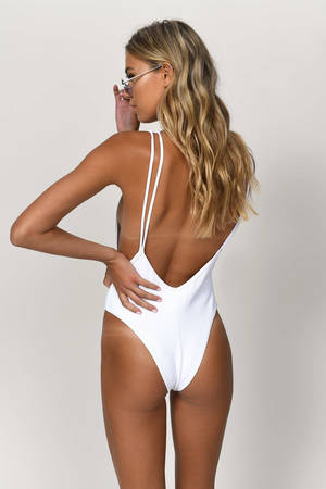 Monokini Ribbed Wish Ribbed One One Wish c4Rq3ALSj5