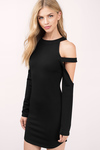 Elle Cold Shoulder Bodycon Dress